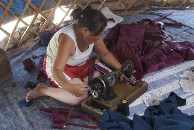 Sewing my del