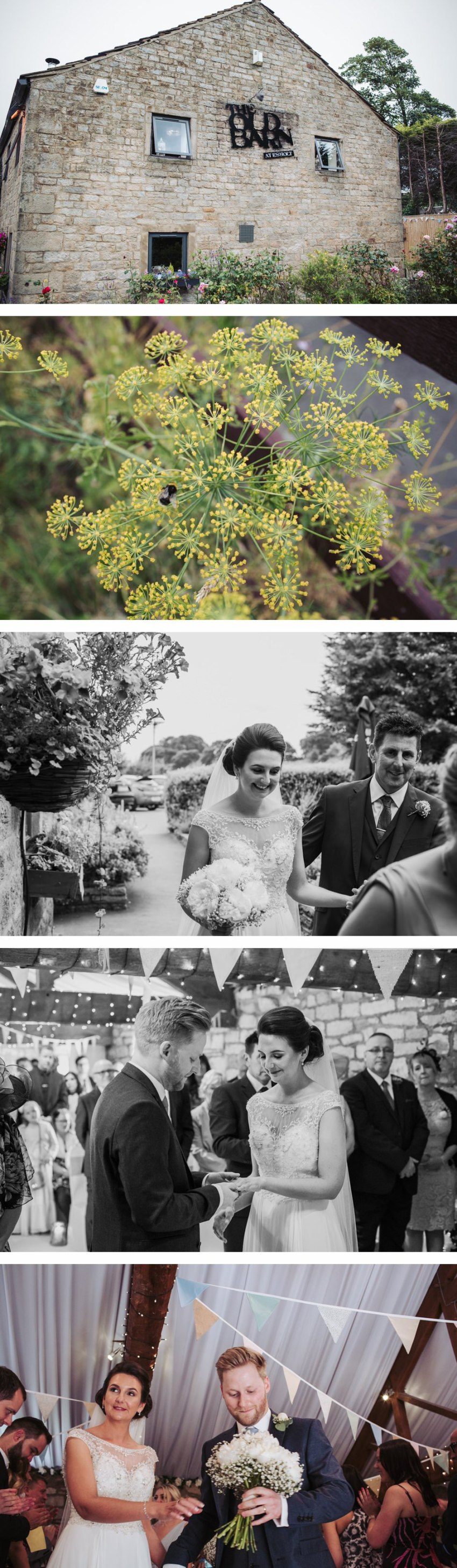old barn baildon wedding-