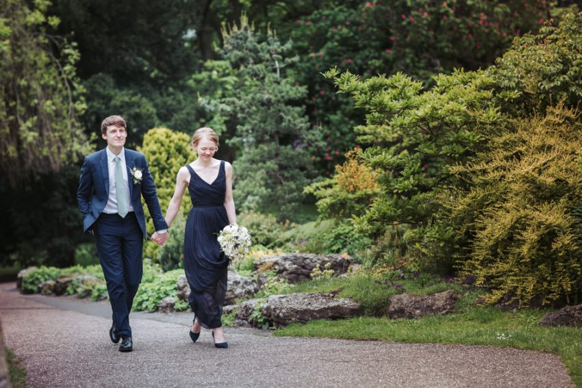 York wedding photographer - Museum gardens