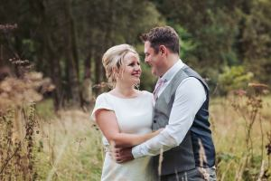 Cheerful Chilli barn wedding photographer - Otley Chevin - Leeds - West Yorkshire