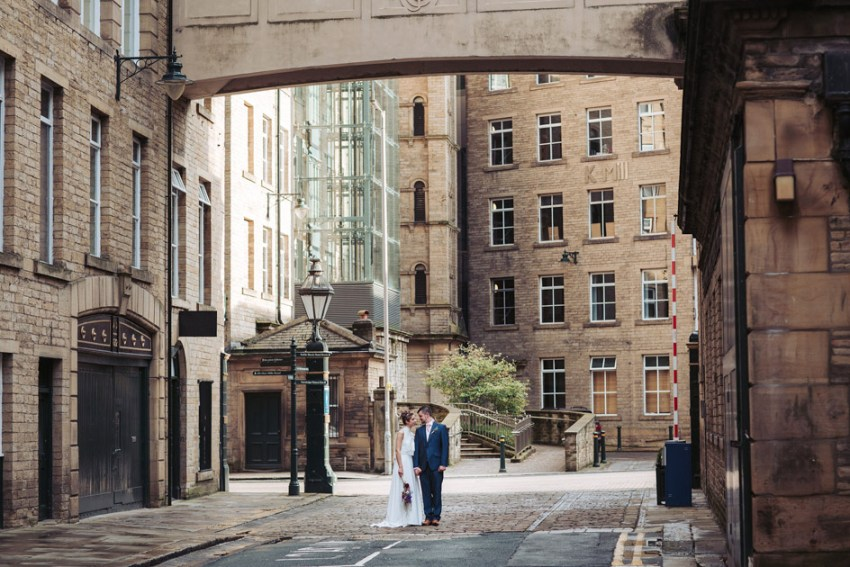Industrial mill wedding photography | The Arches, Yorkshire
