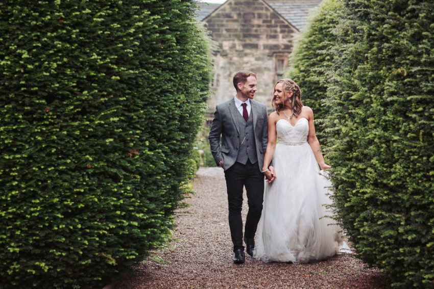 Boho style wedding | Oakwell Hall wedding photographer | Yorkshire