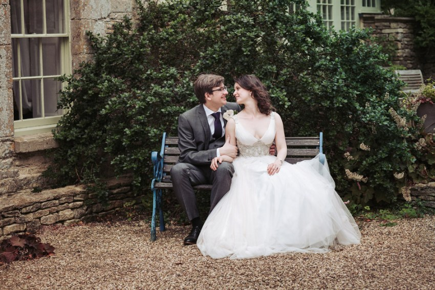 Pretty tulle wedding dress | Tythe barn wedding, Tetbury
