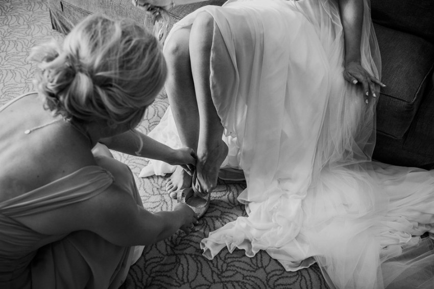 Bridal prep | Natural documentary wedding photography | wedding photography Yorkshire UK