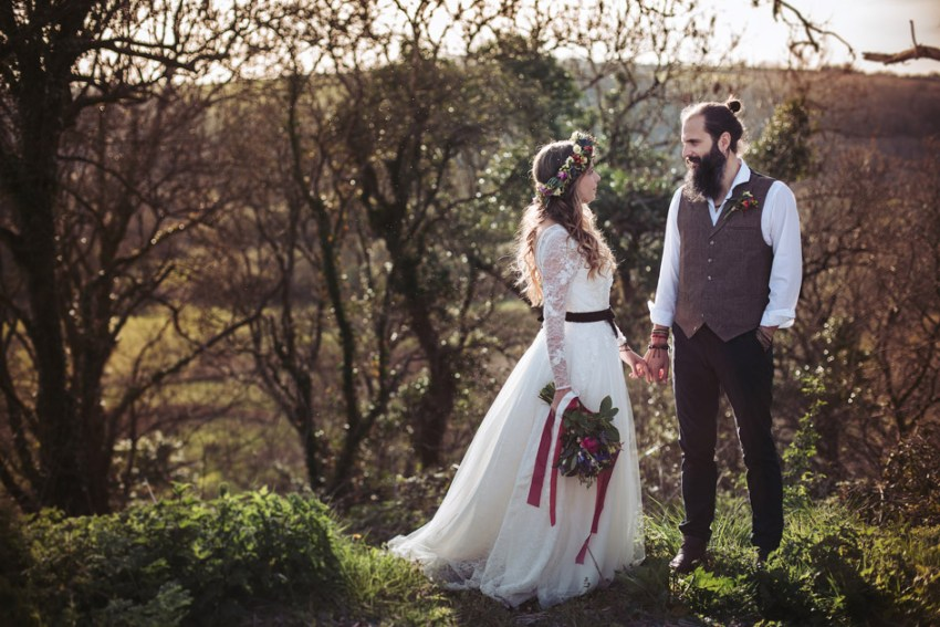 wedding photography Yorkshire UK boho style wedding photography
