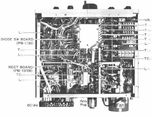 Yaesu FT-101 HF Transceiver Web