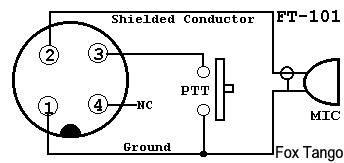 Rewiring YD-844A Desk Mic