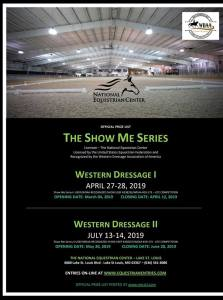 The Show Me Series - Western Dressage II @ The National Equestrian Center - Lake St. Louis