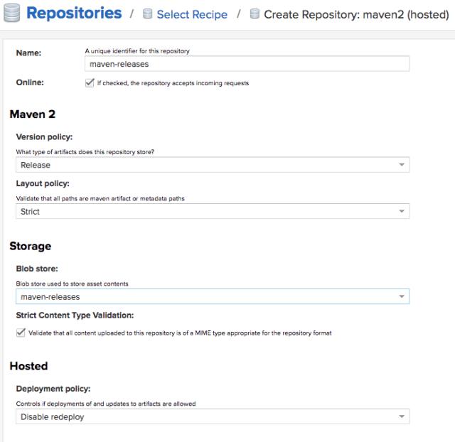 How to Create Nexus as Maven Artifacts Repository - FoxuTech