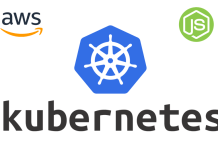 nodejs on kubernetes aws