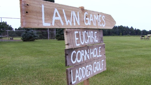 Lazy J Ranch lawn games (© Fox Video and Photography 2014)