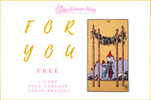 get a free tarot reading when you subscribe to the Fox Woman Way newsletter