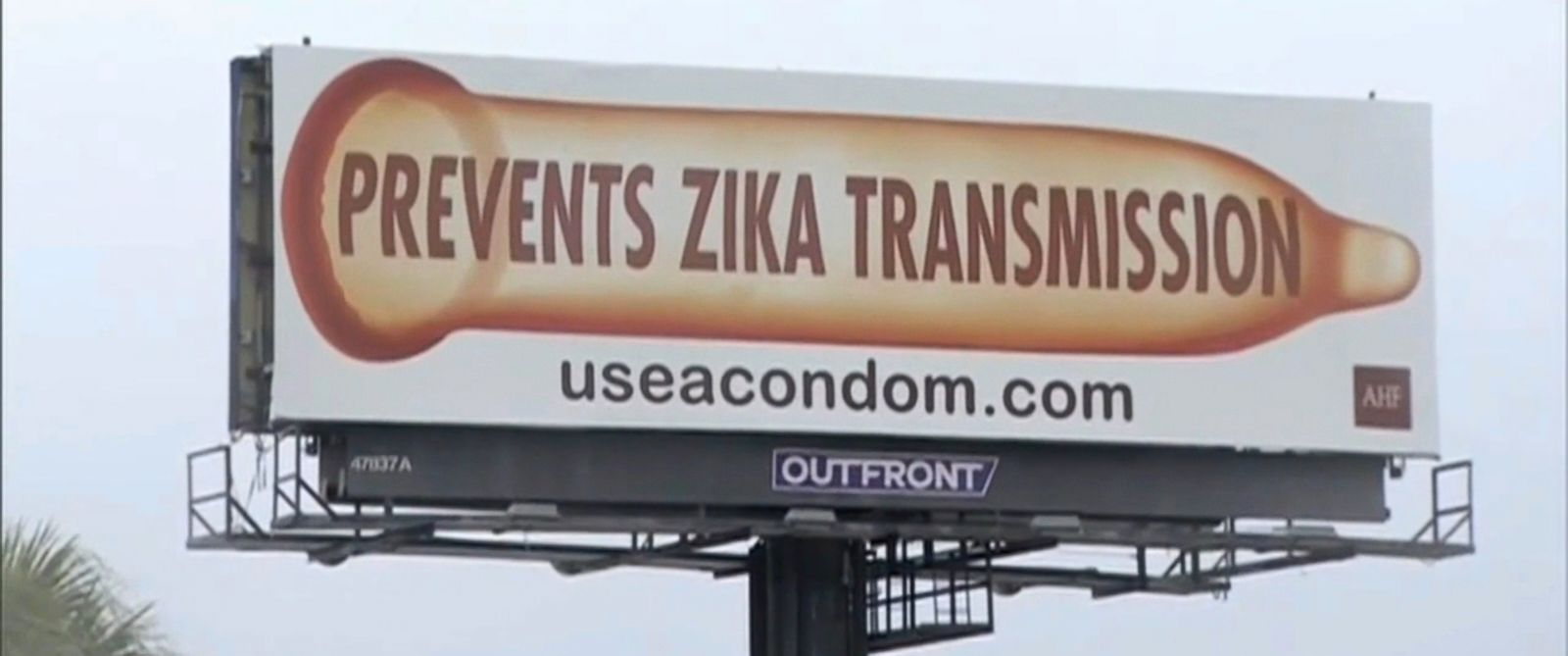 IT'S PORN BEACH FLORIDA PEOPLE: Health Group Accuses Florida Officials of Removing Zika Billboards