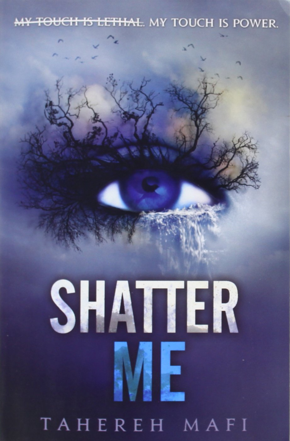 Shatter Me Book Cover