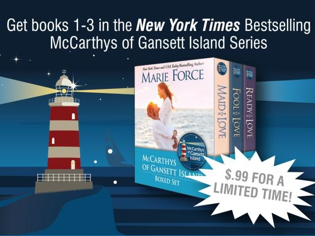 TheMcCarthys of Gansett Island Series Sale Blitz