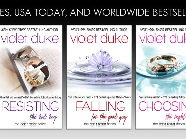 """All New Covers for """"Can't Resist Series""""  {+giveaway}"""