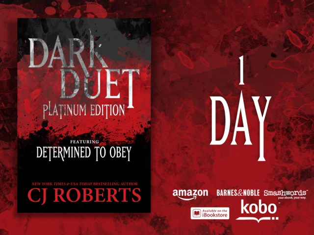 DARK DUET by @AuthorCJRoberts : cover reveal – 1 day – @CLPromotionsKY