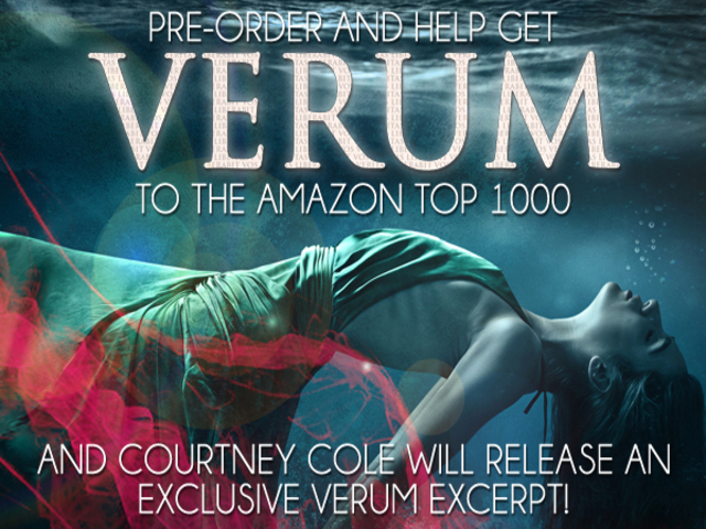 Pre-order -VERUM by @Court_Writes :: @badassmktg