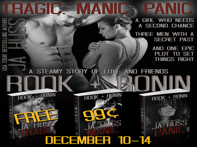 LOVE THIS SERIES!! Rook + Ronin have new covers + giveaway