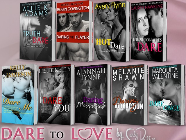 Dare to Love! lots of authors! Check them out! @RockStarPRLC ::
