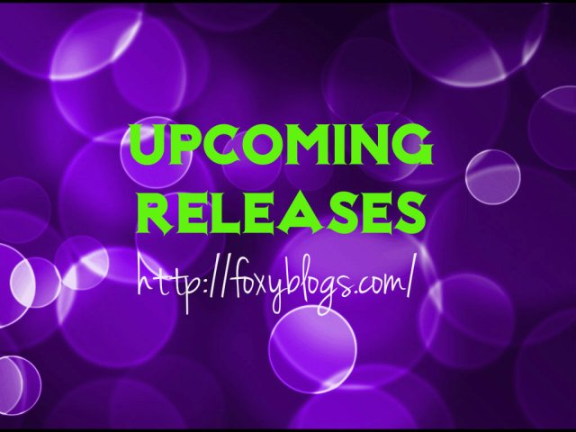 Upcoming books Foxy Blogs is looking forward to in November