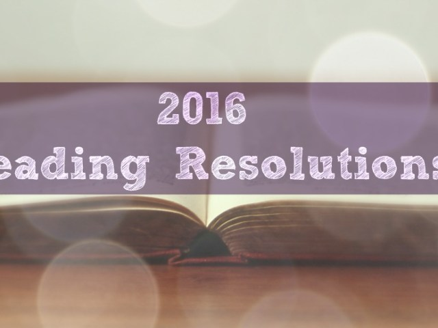 2016 Reading Resolutions