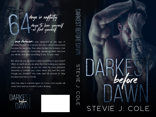 Surprise Cover Reveal! Darkest Before Dawn by @StevieJCole