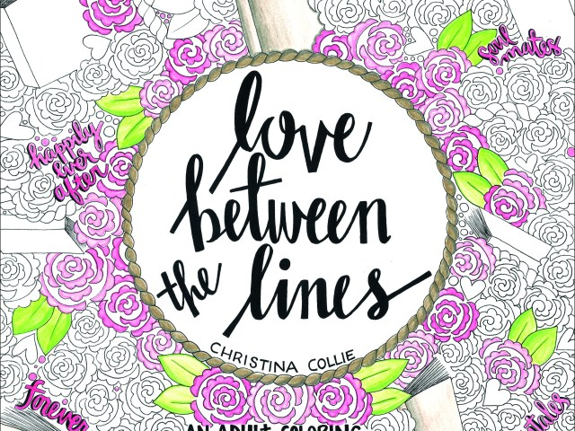 Love Between the Lines by @DooodlesbyChris #AdultColoringBook #giveaway