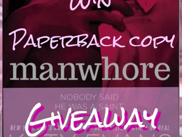 Winner announced for the  paperback copy of Manwhore by @authorkatyevans  #Giveaway @SullandPartners ::