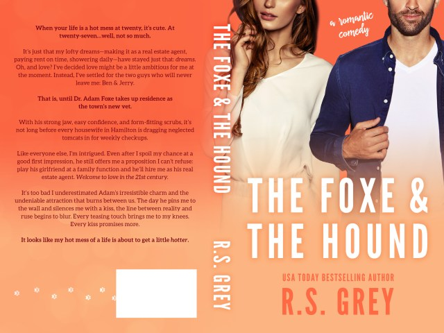 Cover Reveal ~ THE FOXE & THE HOUND by @AuthorRSGrey