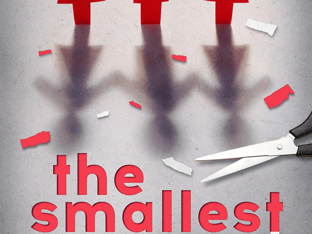 Cover Reveal ~ THE SMALLEST PART by @aharmon_author