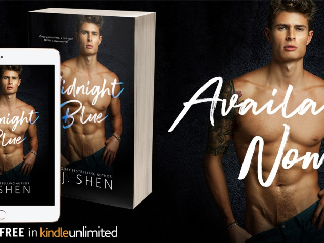 Now Available: Midnight Blue by LJ Shen  #Excited