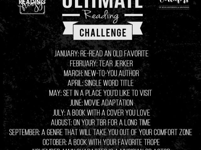2018 READING CHALLENGE hosted by @ReadFrenzy & @CollectorBookBF