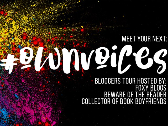 Meet Your Next Own Voices Tour Schedule #OwnVoices