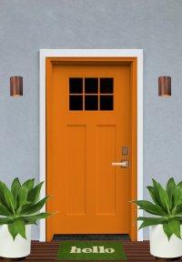 Exterior Design Concept: Craftsman Front Door