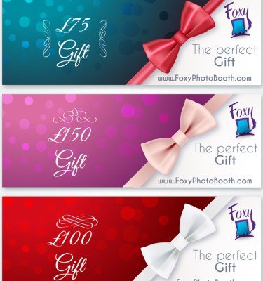photo booth rental discounts, gift vouchers
