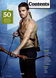 Stephen Amell Arrow Mag