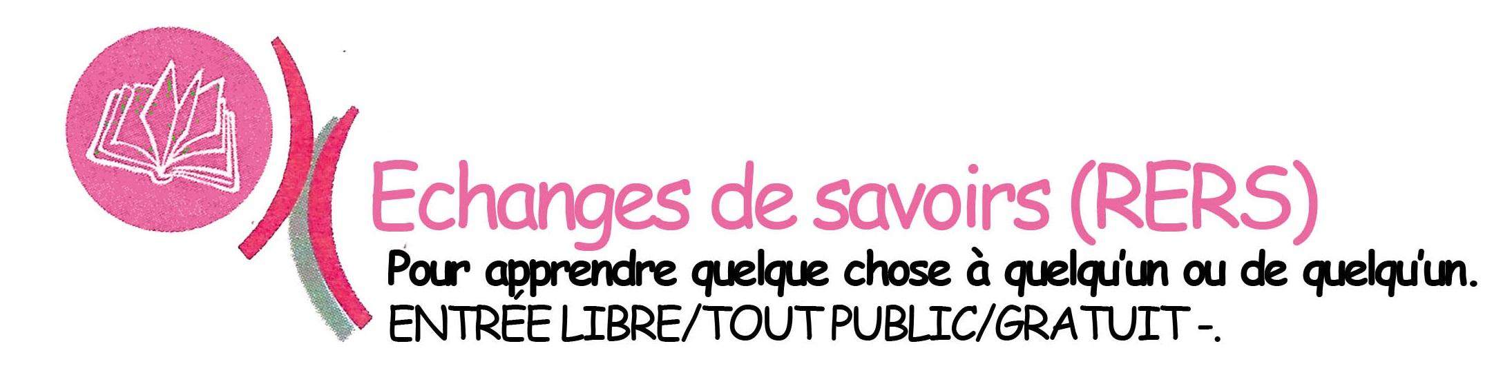 Logo EVS echange savoir
