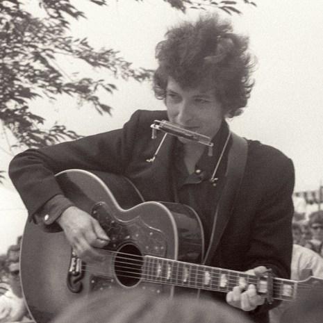 Bill_Woodley_Dylan at Newport 1965_photograph_2015_13x15x1