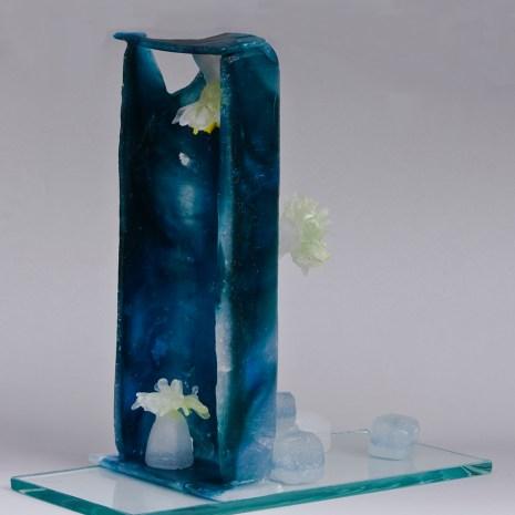 Eiko Emori_Arrangement_glass ([pâte de verre)_11x5x12_$500