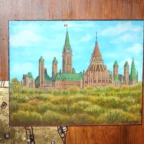 Beata_Jakubek_Ottawa in Autumn_Acrylic_12x18x1_275