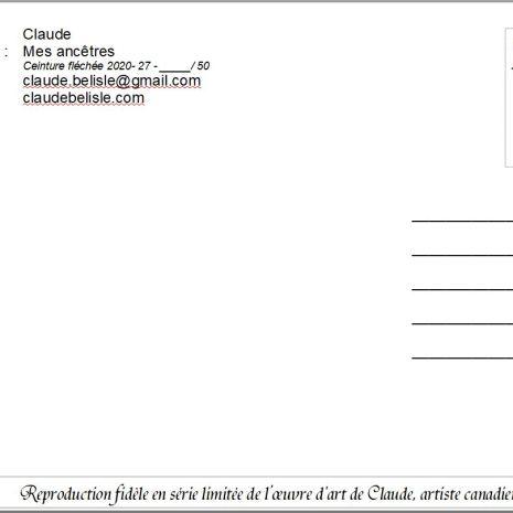 Claude_Bélisle_Carte_postale_-_la_ceinture_fléchée