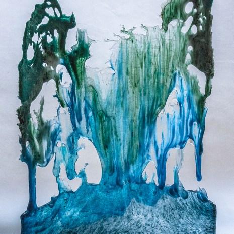 Eiko Emori Blue Flow side 2