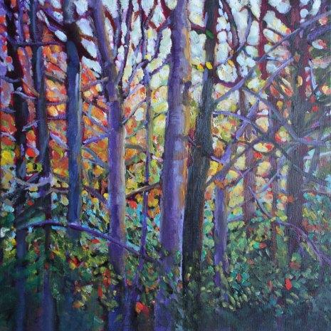 Christiane_Kingsley_Forest_Kaleidoscope_oil_12x12x