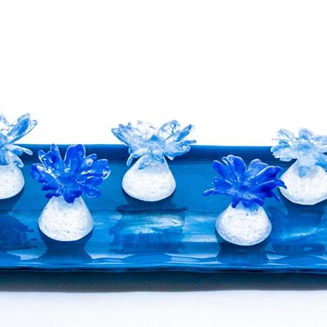 Eiko Emori Blue Daisies