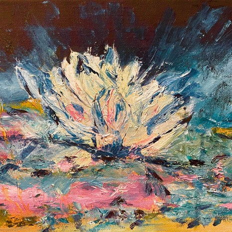 Rose Marie_Roy_Abstracted Waterlily-new