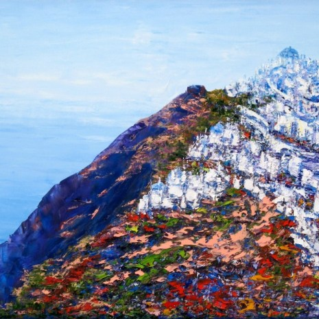 Margaret_Chwialkowska_On_the_Road_to_Oia__Santorin