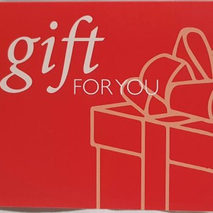 Gift Card, A Gift For You.