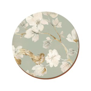Creative Tops Duck Egg Floral Coasters