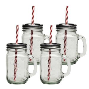Eddingtons Country Mason Jar Mugs